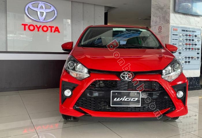 Đầu xe Toyota Wigo 2020