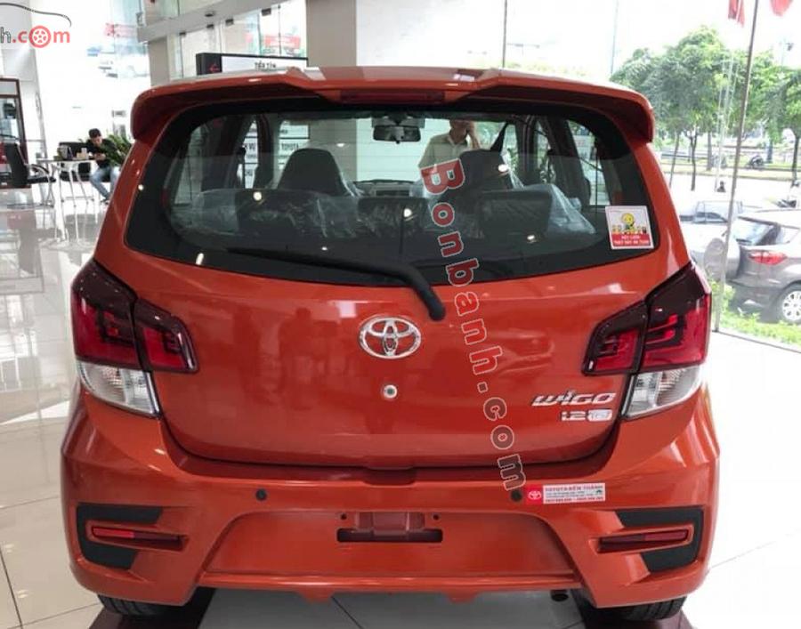Đuôi xe Toyota Wigo 2020