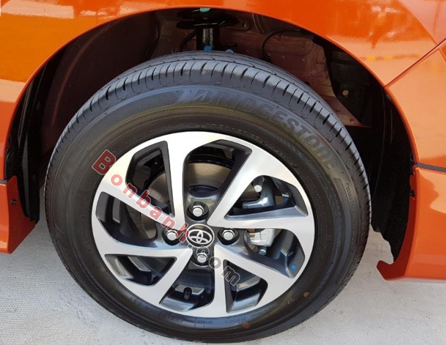 Lazang xe Toyota Wigo 2020