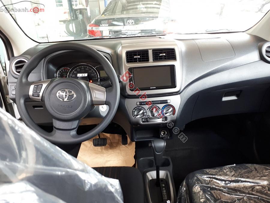 Nội thất xe Toyota Wigo 2020