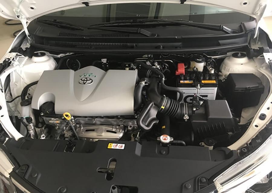 Động cơ Toyota Yaris 2020