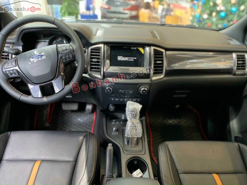 Khoang lái Ford Ranger 2021