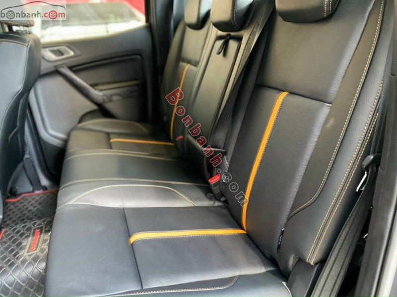 Hàng ghế sau Ford Ranger 2021