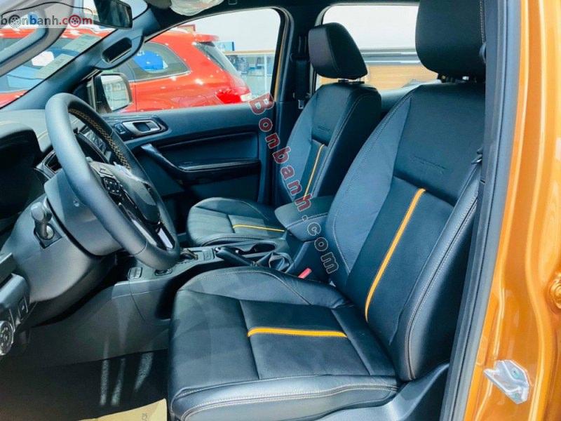Nội thất Ford Ranger 2021