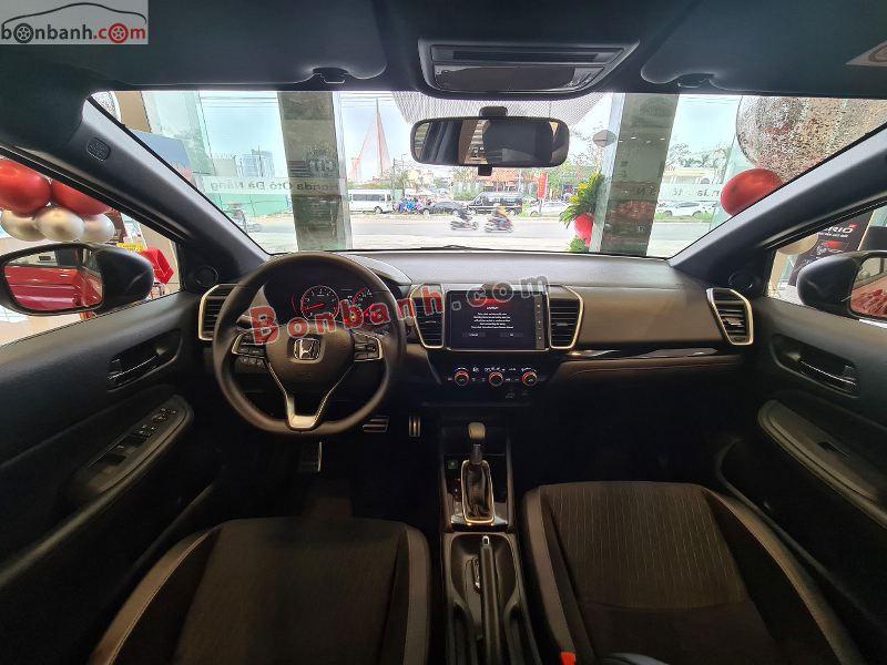 Hình ảnh khoang lái Honda City 2021