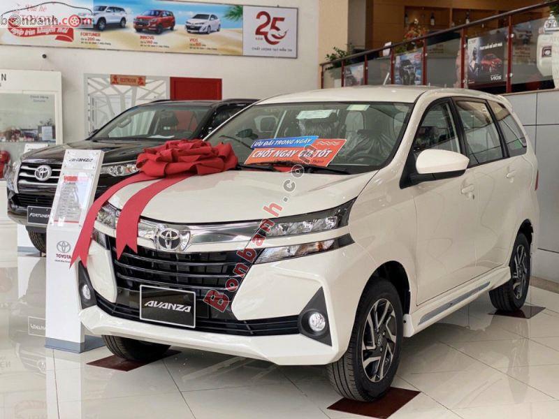 Hình ảnh xe Toyota Avanza 2021 màu trắng - Thế hệ mới nhất tại Việt Nam