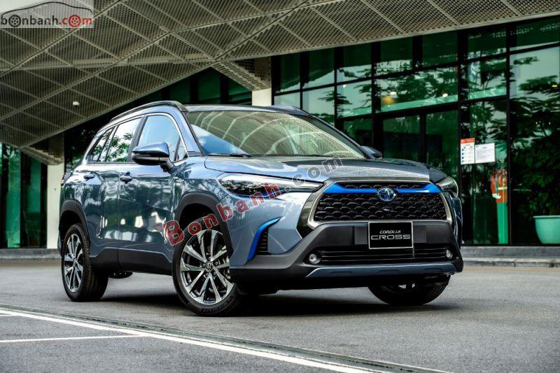 Hình ảnh tân binh Toyota Corolla Cross 2021 đang bán tại Việt Nam