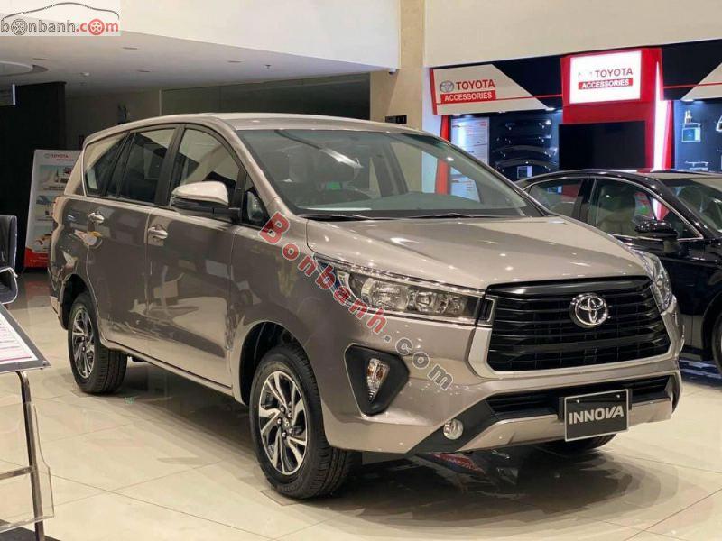 Hình ảnh xe Toyota Innova 2021 phiên bản mới nhất tại Việt Nam