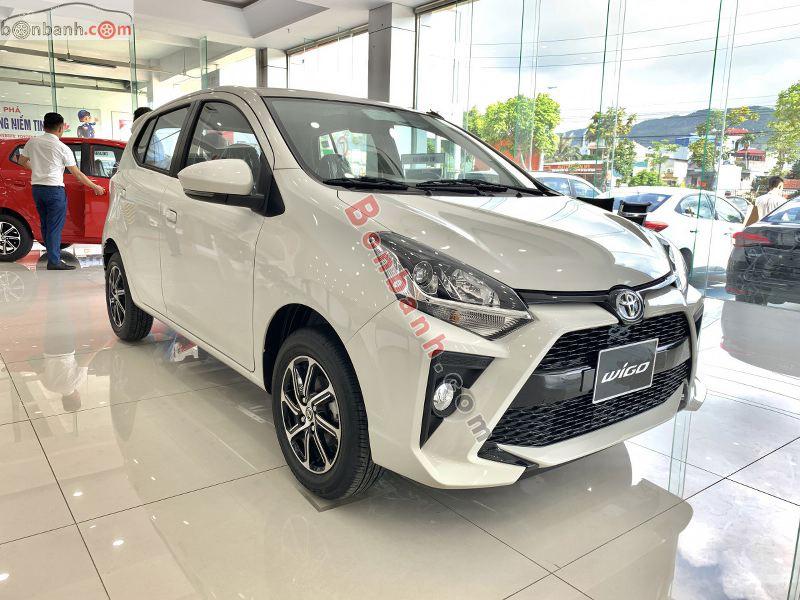 Hình ảnh xe Toyota Wigo 2021 màu trắng