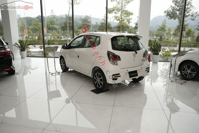 Hình ảnh phía sau Toyota Wigo 2021