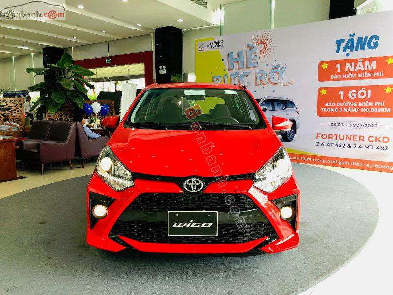 Hình ảnh xe Toyota Wigo 2021 tại Việt Nam