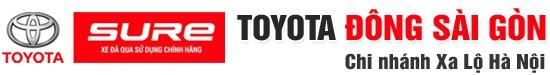 Toyota Đông Sài Gòn - TT Xe Đã Qua Sử Dụng